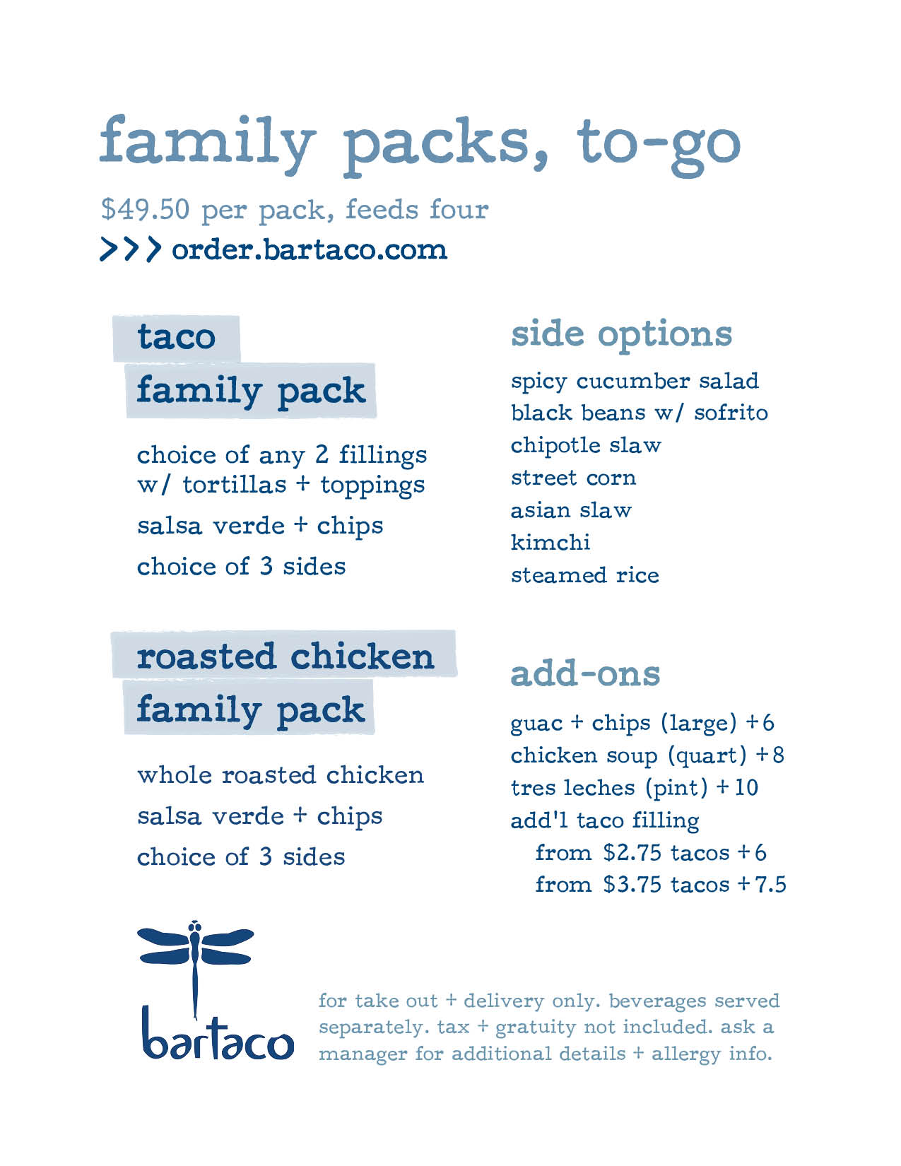 bartaco family packs 1
