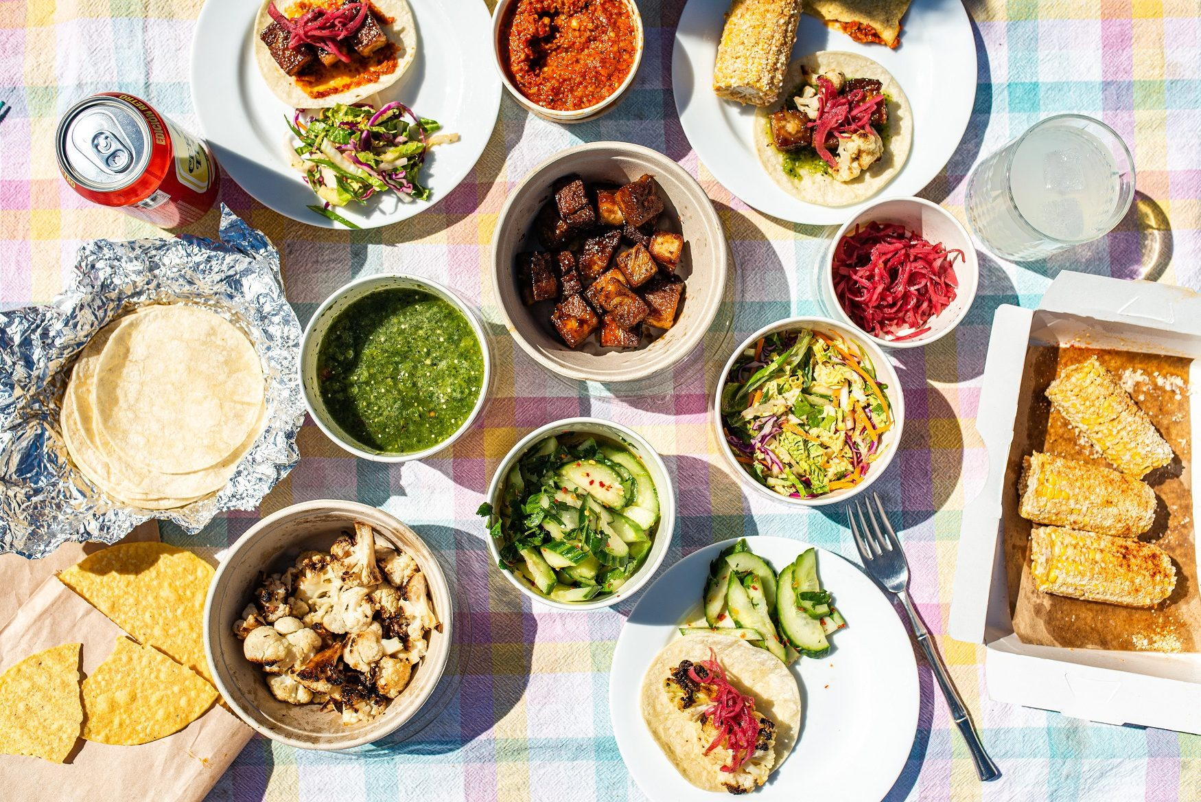 Bold flavors everyone will 💙 love delivered straight to your door. @bartacolife's family packs are the perfect solution for an easy dinner. Choose from a 🌮 taco pack (makes 16 tacos) or roasted 🍗 chicken pack, both served with salsa verde + chips and your choice of 3 sides. $39.50 per pack – feeds four. Order 📲 online at order.bartaco.com and enjoy #bartacoathome.