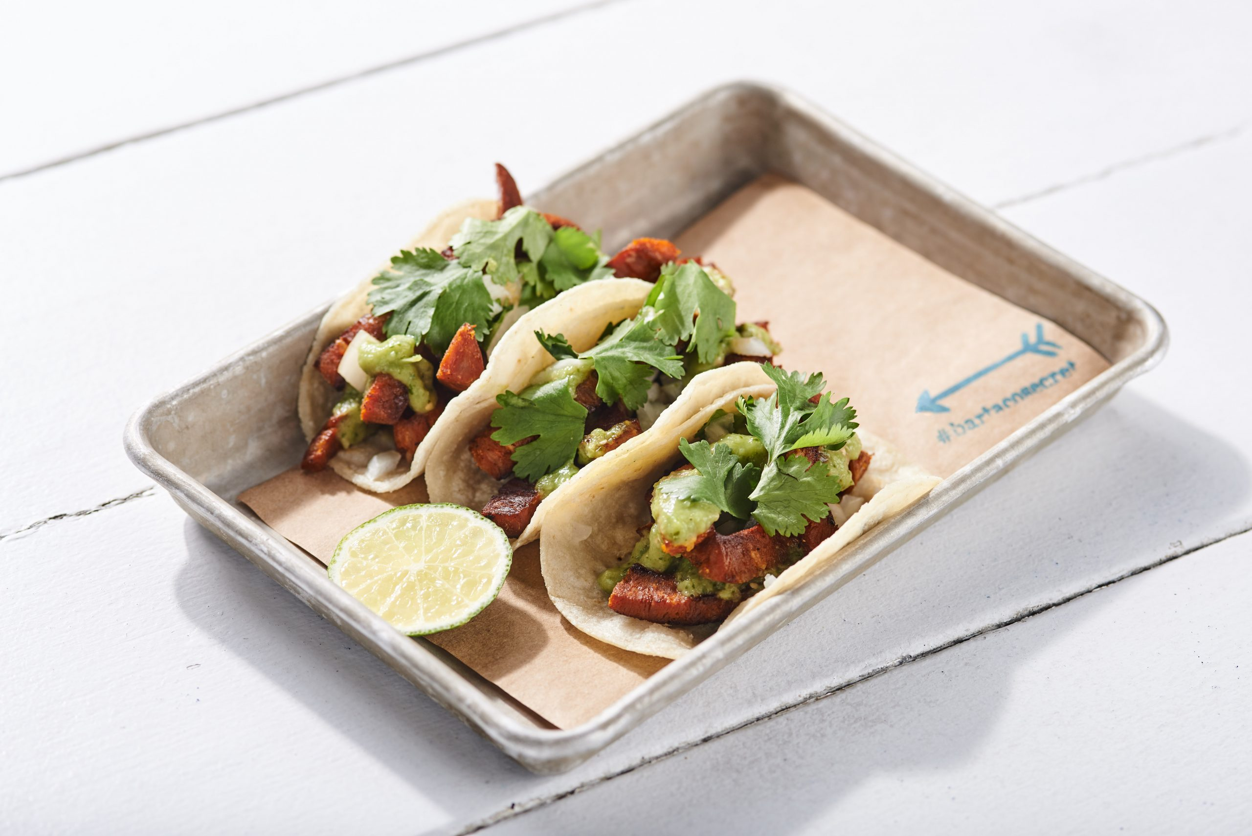 new #bartacosecret seared chorizo taco 1