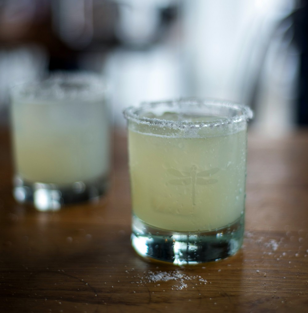 bartaco Margarita on the rocks with salt on the rim