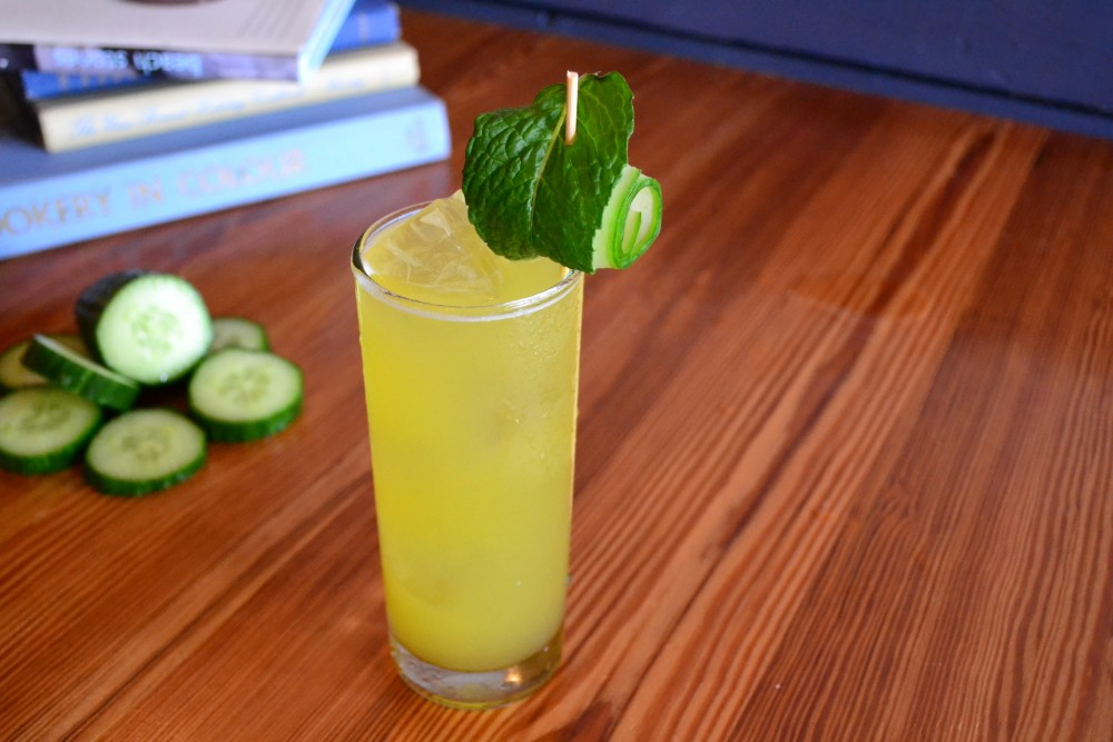Reviver Cocktail with cucumber from bartaco