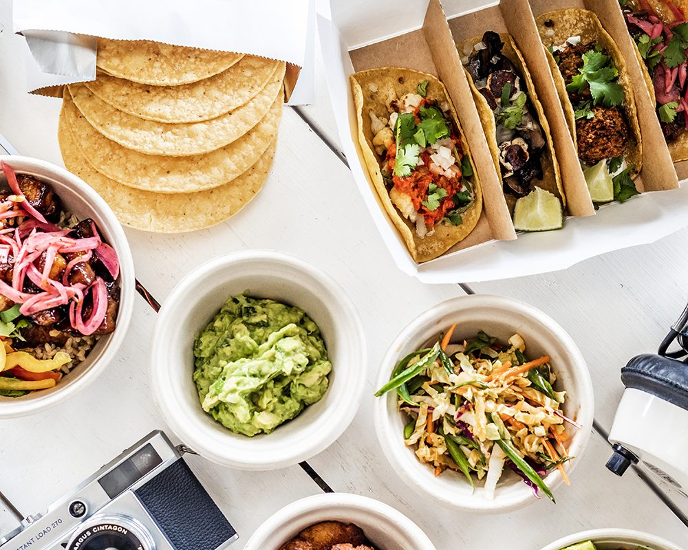 taco party pack with sides from bartaco